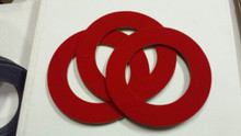 Trio Red Velcro Rings - price is for 1 - ONE