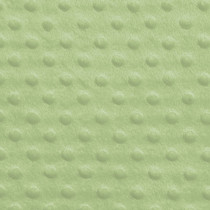 Mint Green Minky Dot Faux Fur Fabric