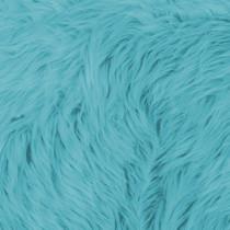 Turquoise Shag Faux Fur
