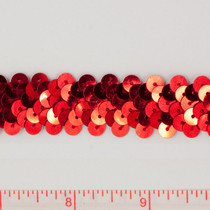 "Red .75"" Sequin Trims"