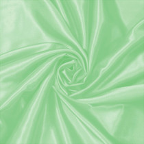 Mint Green Charmeuse Satin Fabric