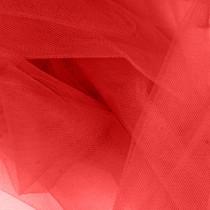 """Crimson Red 54"""" Tulle"""