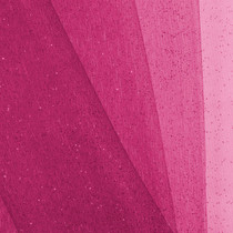 Hot Pink Glitter Netting Fabric