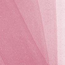 Candy Pink Glitter Netting Fabric