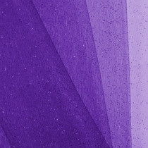Purple Glitter Netting Fabric
