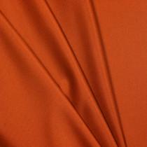 Orange Polyester Interlock Fabric