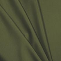 Olive Green Polyester Interlock Fabric