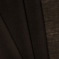 Brown Cotton Gauze Fabric