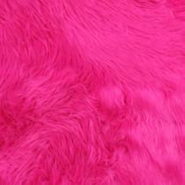 Fuschia Shag Faux Fur