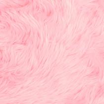 Pink Shag Faux Fur