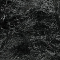 Black Mongolian Faux Fur