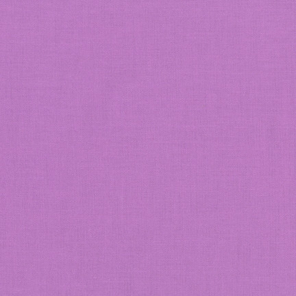 Violet Kona Cotton Solid Fabric by Robert Kaufman
