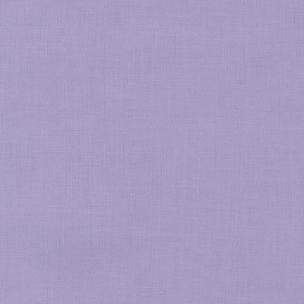 Lilac Kona Cotton Solid Fabric by Robert Kaufman