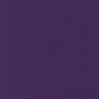 Purple Kona Cotton Solid Fabric by Robert Kaufman