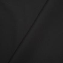 Black Stretch Cotton Broadcloth Fabric