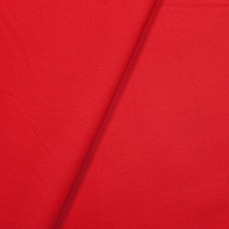 Red Stretch Cotton Broadcloth Fabric