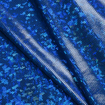 Royal Blue Shattered Glass Nylon Lycra