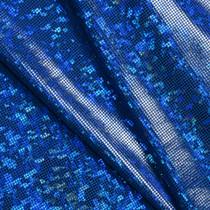 Royal Blue Shattered Glass Nylon Lycra