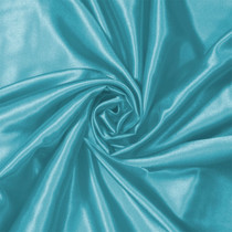 Aqua Charmeuse Satin