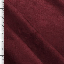 Burgundy Upholstery Suede