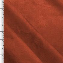 Dark Orange Upholstery Suede
