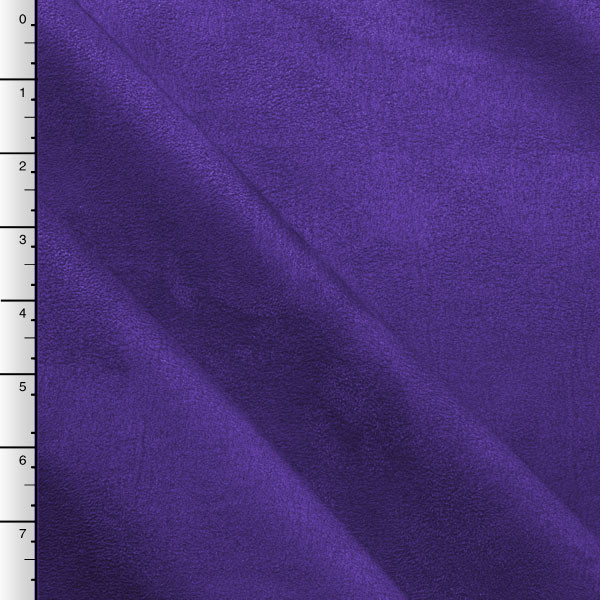 Purple Upholstery Suede