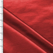 Red Shantung Satin