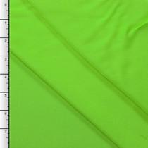 Lime Green Rayon Challis