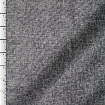 Charcoal Vintage Linen Look