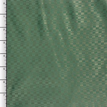 Forest Green Geometric Patterned Lining Fabric