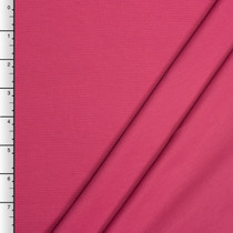 Hot Pink Midweight Stretch Ponte De Roma Solid