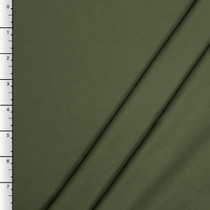 Olive Green Midweight Stretch Ponte De Roma Solid