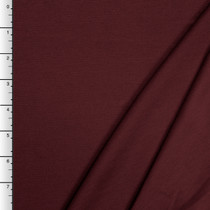 Wine Midweight Stretch Ponte De Roma Solid