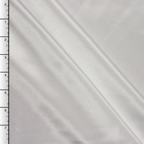White Midweight Bridal Satin