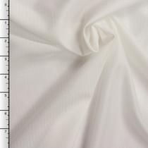 White on White Stripe Japanese Poly Lining