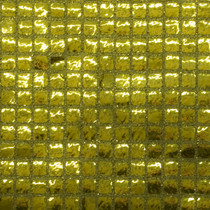 Gold Square Sequin Fabric