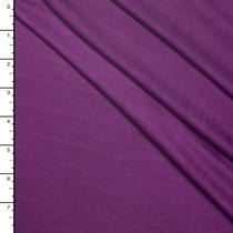 Deep Purple Stretch Rayon Jersey