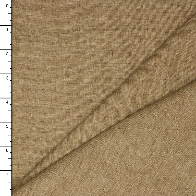 Tan Designer Textured Linen
