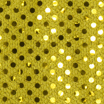 Gold Mini Sequin Fabric