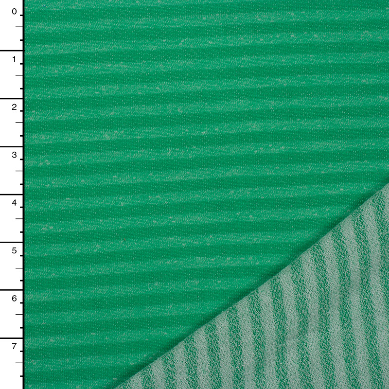 Light Green on Green Lightweight French Terry
