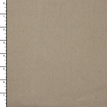 Oatmeal Herringbone Heavyweight Cotton Upholstery Fabric