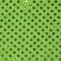 Lime Green Mini Sequin Fabric