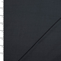 Charcoal Midweight Bamboo/Organic Cotton Stretch Jersey Knit