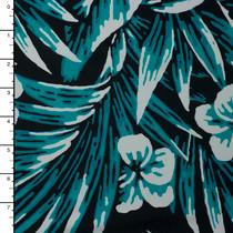 Designer Nylon/Lycra Swimwear Fabric – Floral Print #15099