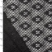 Black Diamond Pattern Cotton Netting