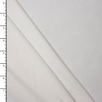 White Midweight 4-way Stretch Rayon/Lycra Jersey Knit