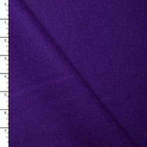 Purple Designer Wool Melton