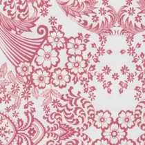 """""""Paradise Lace"""" Pink Oilcloth"""