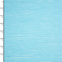 Light Blue Accordion Poly Knit