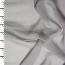 Light Grey Silk Chiffon